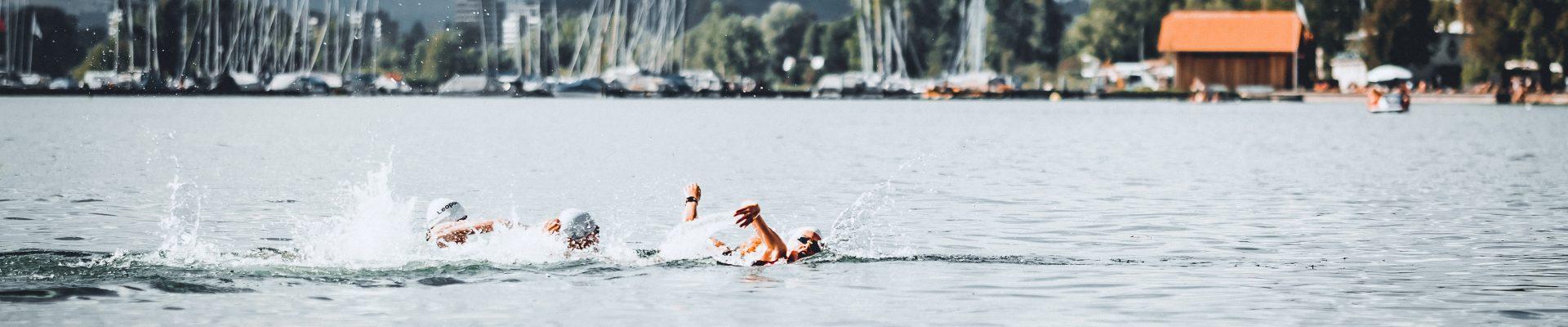 Statement on the shortened swim course: